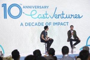 Acara ulang tahun East Ventures ke-10