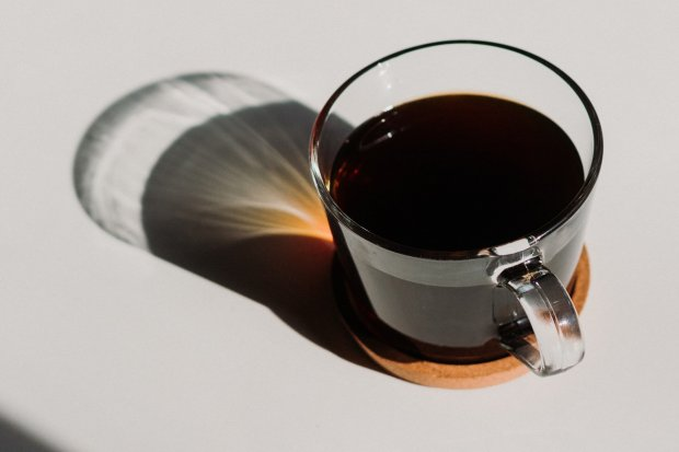 Kopi hitam tanpa gula