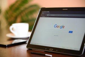 Tampilan Google.