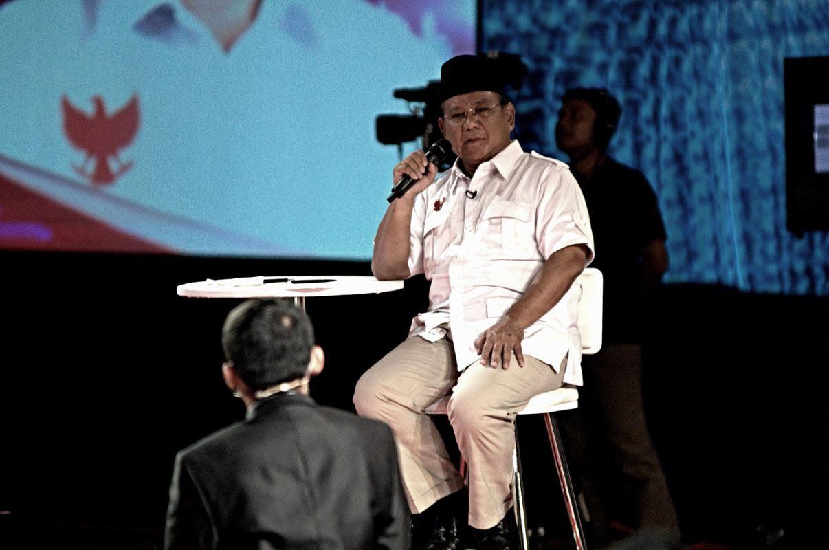 Prabowo Debat Capres