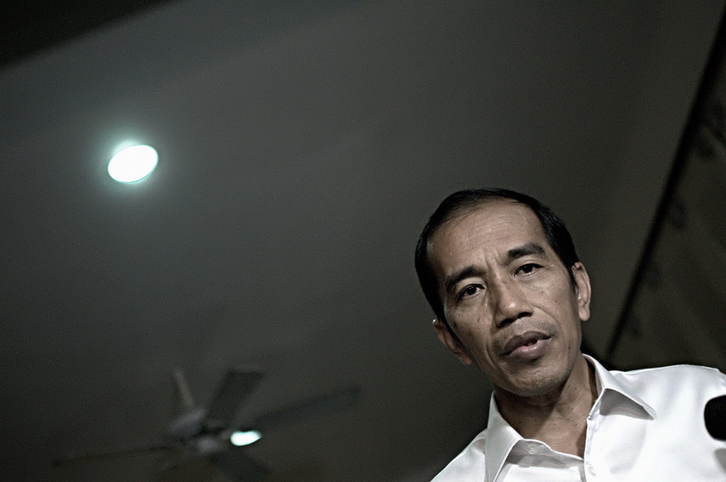 Joko Widodo KATADATA | Arief Kamaludin