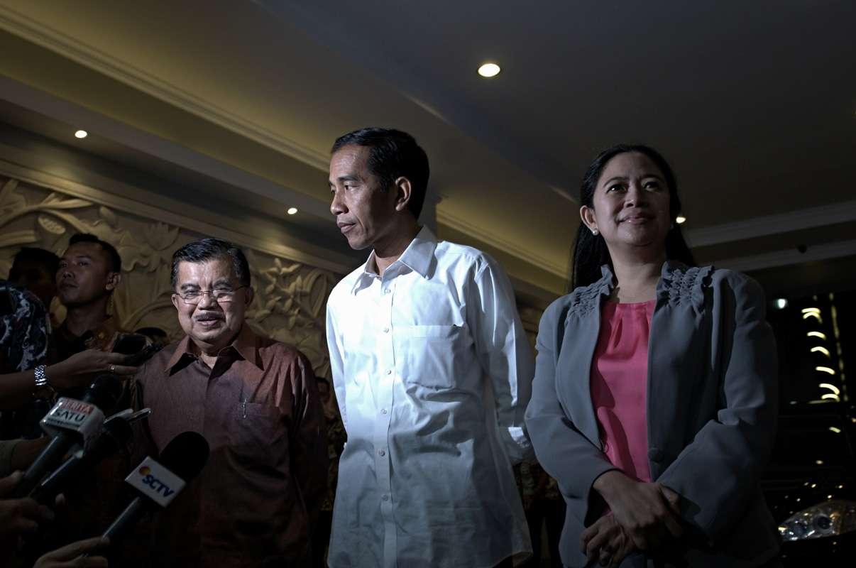 Jokowi & JK KATADATA | Arief Kamaludin