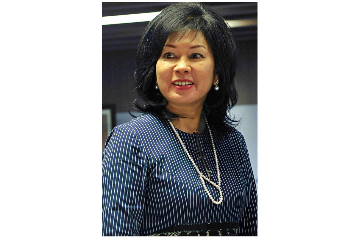 Karen Agustiawan KATADATA|Agung Samosir