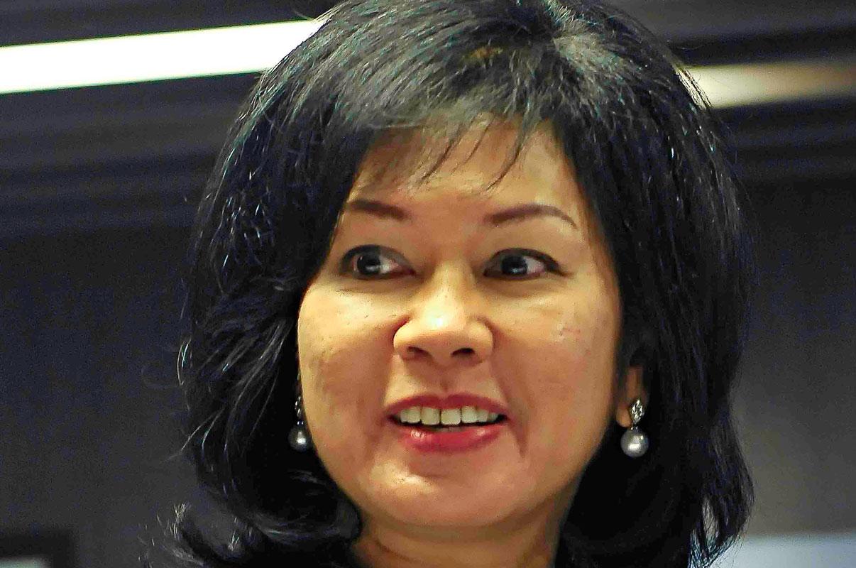 Karen Agustiawan KATADATA Agung Samosir