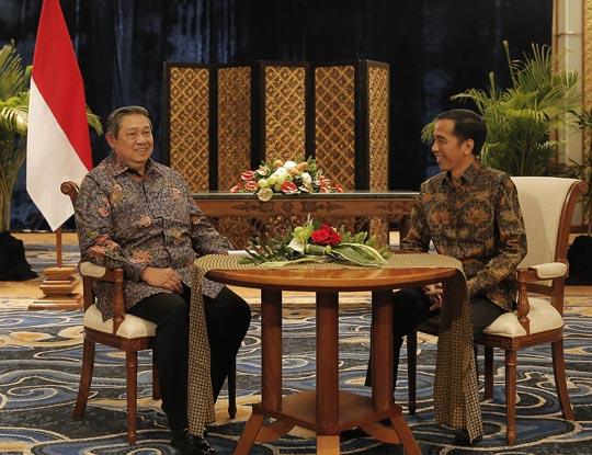 Katadata Pertemuan SBY-Jokowi di Bali, 27 Agustus 2014