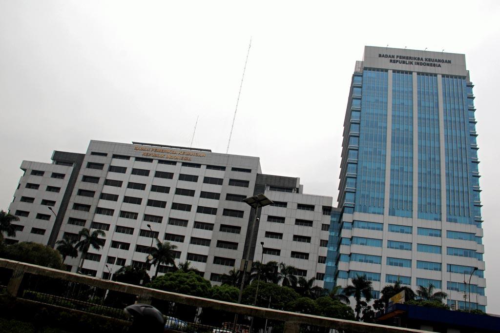 Ilustrasi, Gedung Badan Pemeriksa Keuangan (BPK). BPK akan memperluas lingkup audit investigasi terkait kasus dugaan korupsi PT Asuransi Jiwasraya.