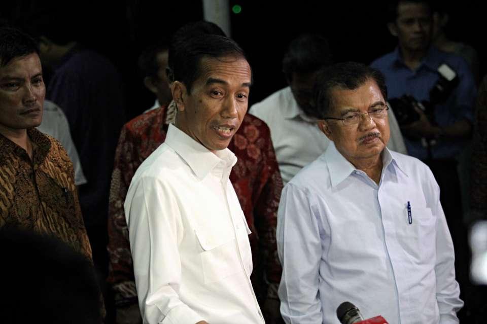 Jokowi & JK KATADATA   Arief Kamaludin